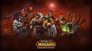 История warlords of draenor видео